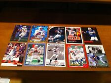 10 PEYTON MANNING FOOTBALL CARDS FROM THE 1990's INDIANAPOLIS COLTS EXCELLENT!!!