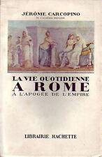 Collection VQ ! La vie quotidienne à Rome !