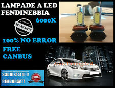 LAMPADE FENDINEBBIA H11 LED CREE RESISTENZA CANBUS 6000K VW GOLF 7 VII