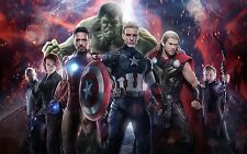 The Avengers 11x17 Poster Print Great to get signed