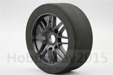 Pre-Glued 4pcs 1/8 Foam Tire Tyre Y Spoke fits for 1:8 Racing Car 1:8 GT XO-1