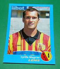 N°137 CYRILLE MAGNIER RC LENS RCL PANINI FOOT 96  FOOTBALL 1995-1996