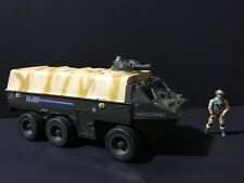 Gi Joe Vintage APC A.P.C Vehicle 99% Complete Missing 1 Seat Belt. Clean