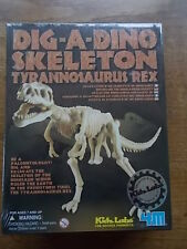 KIDZ LAB T Rex Dinosaur Dig Excavation Kit Tyrannosaurus Rex Science Game Sealed
