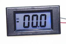 DC 4-20MA corriente de pantalla LCD de 7 segmentos Azul Probador Panel Amperímetro Medidor