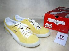 Puma x Solebox Clyde Original Sample from Puma Archive 11 US Yellow /Wht  Suede