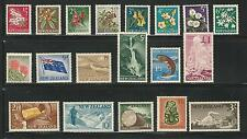 New Zealand: Scott 333-352, missing 340C and 347 total 83$ mint. NZ11