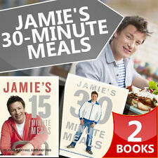 Jamie Olivers Collection 2 Books Set Jamie's 15-Minute Meals,Jamie's 30-Minute