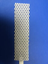 "PLATINUM COATED TITANIUM ANODE for RHODIUM PALLADIUM PLATING 1"" x 4"" MESH"