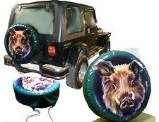 Cabeza de Jabalí de Caza Jeep Coche Camión Caravana Respeto Repuesto