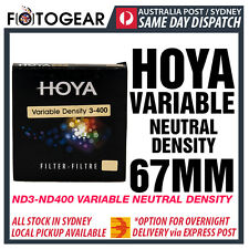 Genuine HOYA Variable ND3-400 Neutral Density ND ND400 NDx400 67MM EXPRESS POST