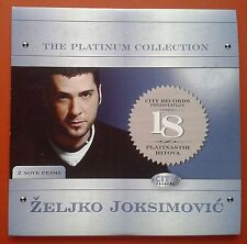 CD Zeljko Joksimovic The Platinum Collection City Records Folk Serbia Digipak