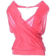 NEW STYLISH CELINE HALTER NECK SILK / CASHMERE TOP, SZ M/ UK10-12