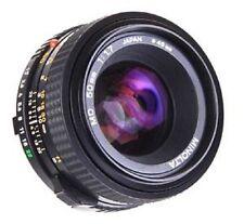 Minolta 1:1.7 50mm MD Lens X-700 X570 X-370 XD XGM XG9