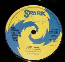 "BILL PURSELL NASHVILLE SWEAT BAND "" DE JA VU "" 1970s DISCO POP 45 ON SPARK"