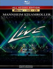 MANNHEIM STEAMROLLER - LIVE: ALL ACCESS EDITION - CD - Sealed