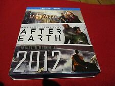 "COFFRET 3 BLU-RAY NEUF ""LA 5EME (CINQUIEME) VAGUE / AFTER EARTH / 2012"""