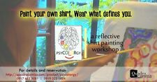 Psycolorgy - a reflective shirt painting workshop