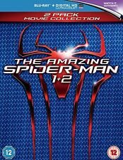 The Amazing Spider-Man 1-2 Blu-Ray Set BRAND NEW Free Shipping