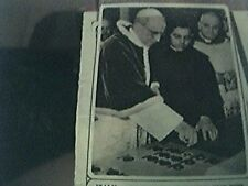 magazine picture 1954 italy santa maria di galleria pope and new vatican radio