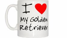 I Love Corazón Mi Golden Retriever Taza