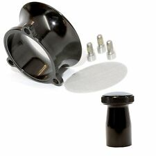 S&S E G Carb Black Anodized Billet Velocity Stack and Domed Choke Knob