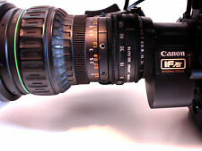Sony DXC-D35 Camcorder Canon BCTV Zoom Lens DSR-1 PVV-3 IFxs Lens