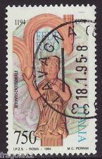 ITALIA 1994 - FEDERICO II - CATTEDRALE DI BITONTO - L. 750 - USATO
