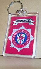North Yorkshire Fire and Rescue Service key ring..