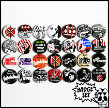 The Dead Kennedys 1979 - 1980 Badge Set - 28 Quality Pin / Button Badges