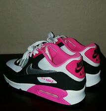 BRAND NEW DS Womens Nike Air Max 90 Running Pink 345017-122 4Y Womens 5.5
