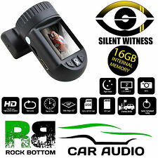 Silent Witness SW010 Car Van Taxi GPS HD DVR Mini Dash Cam Camara 16GB SD Card