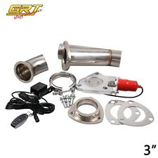"2.5"" Remote Electric Exhaust Catback/Downpipe Cutout/E-Cut Out Valve System Kit"