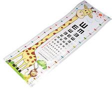GIRAFFE HEIGHT GROWTH CHART WALL STICKER ART DECAL NURSERY/KIDS/GIRLS/BOYS ROOM