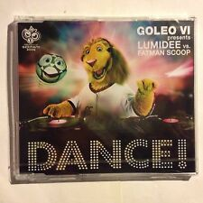 GOLEO VI Present Lumidee Vs Fatman Scoop - Dance - CD Nuovo Sigillato