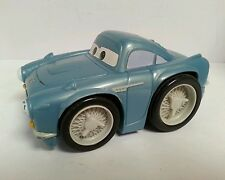 "PIXAR: CARS - FLO 5"" Action Figure Vehicle, Sounds, Disney, Plastic, Working"