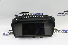 BMW  E60 E63 E64 DASHBOARD DISPLAY MONITOR NAV SAT SCREEN 9151976 / 9193748