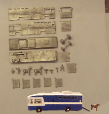 P&D Marsh N Gauge G32 Lambourne racehorse transporter kit requires painting