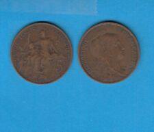 gertbrolen 5 Centimes bronze    Type Dupuis  1916 étoile  Troisième République