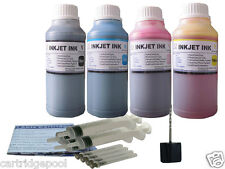 4x250ml Refill ink kit for Lexmark 36A 37A X5650 X6675 X6650 4x8oz/S