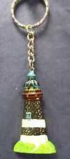 Lighthouse Key Chain Hand Painted Resin (D)