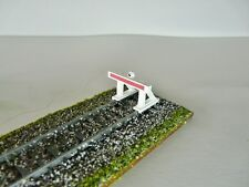 Maquette Train Electrique H0- Lot 4 Heurtoirs Butoirs LED