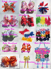 HOW TO MAKE BOUTIQUE HAIRBOWS & HEADBANDS DVD hair bow