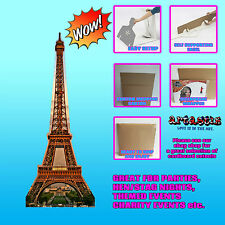 EIFFEL TOWER LIFESIZE CARDBOARD CUTOUT STANDEE STANDUP SC143 TOUR EIFFEL TOWER