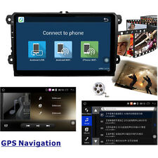 "9"" Android 5.1 VW Passat Car DVD Sat Nav GPS for Golf MK5 MK6 T5 EOS POLO Skoda"