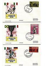 Francobolli# COPPA RIMET MEXICO 70 CAMPIONATO MONDIALE DI CALCIO 1970#Annullo
