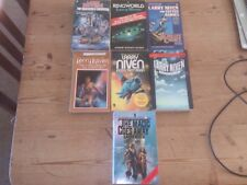 COLLECTION OF 7 LARRY NIVEN SCIENCE FICTION P/B 1960'S & 1970'S & 1980'S