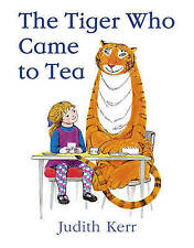 THE TIGER WHO CAME TO TEA by JUDITH KERR ~ MODERN CLASSIC CHILDRENS BOOK