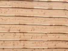 Waney Edge Larch Cladding ideal for sheds(Cedar Douglas fir wood cut timber oak