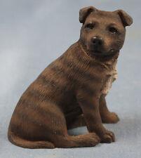 großer Bullterrier terrier figur hund  hundefigur Terrier  castagna